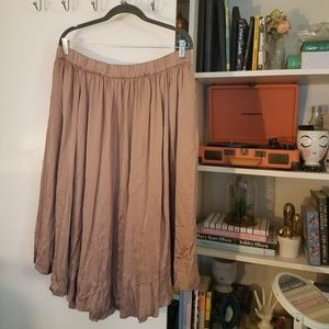 Philosophy A-line skirt with pockets